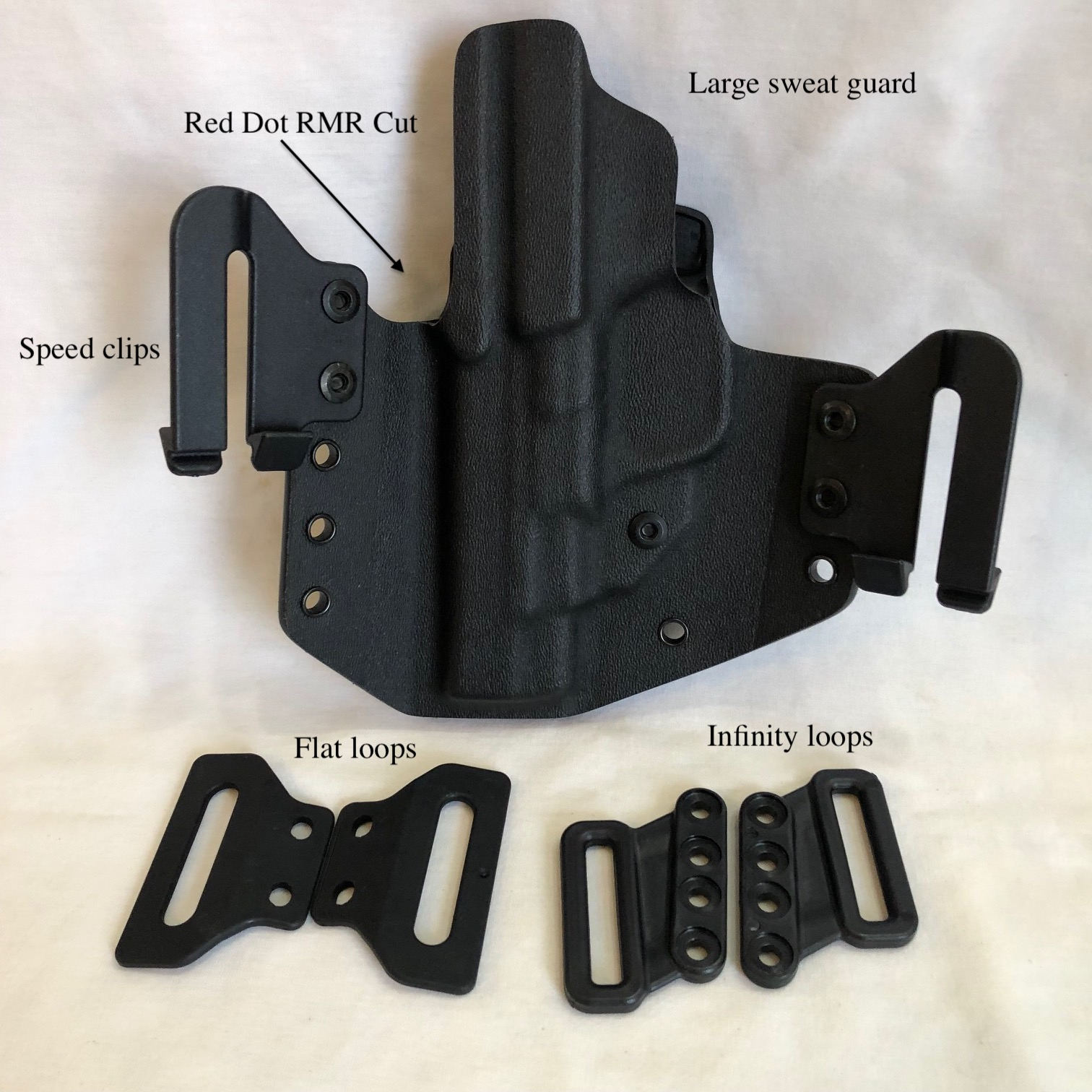 "S&W M&P performance Center shield 4""holster"